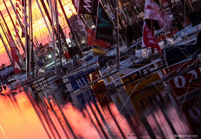 A taki mieliśmy zachód słońca. / fot. R.Hajduk - Shuttersail.com