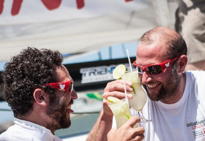 Tanguy De Lamotte i Francois Damiens (Initiatives Coeur) / fot. Shuttersail.com