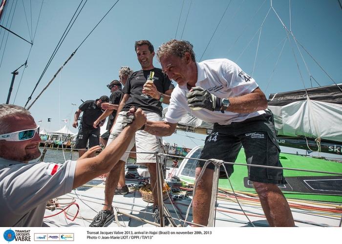 Świstak i Alberto Monaco / fot. J.M. Liot - DPPI - TJV2013