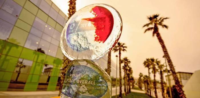 Nagroda dla zwycięzcy wygląda tak. / Fot. Christophe Favreau http://www.imocaoceanmasters.com/news/stunning-trophy