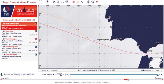 Sytuacja z dn. 11.06.2014 na godz. 0900 UTC / 1100 PL