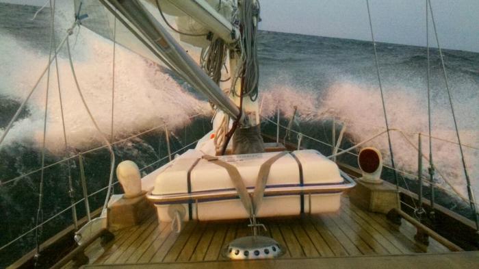 Zdjęcie z pokładu Wandy / Fot. M.Weselak