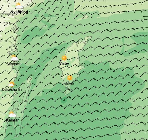 Norweskie mapy pogody - polecam. Po pewnym czasie nawet udaje się domyślić znaczenia poszczególnych zakładek. / http://www.yr.no