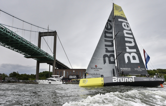 Team Brunel wygrywa In Port Race w Goteborgu. / Fot. Ricardo Pinto - VOR