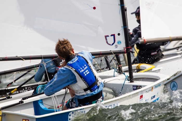 Optimist World Championship || 2015-08-26, Dziwnow, Poland || © Copyright 2015 || Robert Hajduk - ShutterSail.com || All Rights Reserved ||