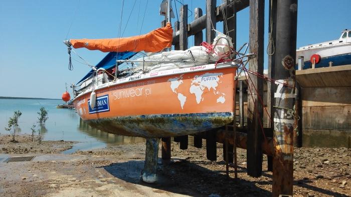 Postój techniczny w Darwin zaplanowano na miesiąc. / Fot. Zew Oceanu