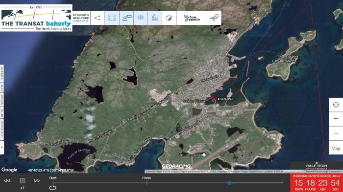 The Transat_mapa_Isabelle Joschke_w_St_Pierre