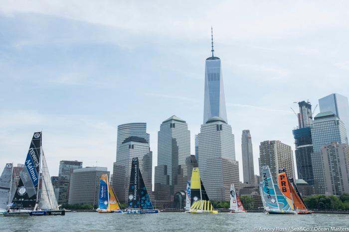 Start z Nowego Jorku. / Fot. Amory Ross/Sea&Co/OSM