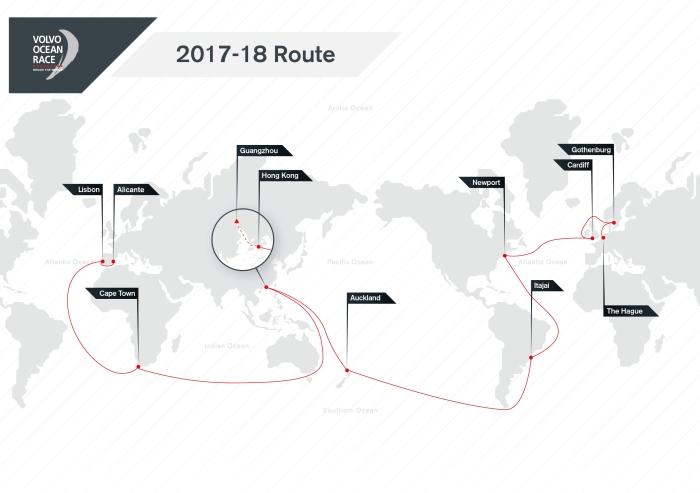 Nowa trasa VOR. Trzy razy na Oceanie Południowym, w sumie 12500 Mm.