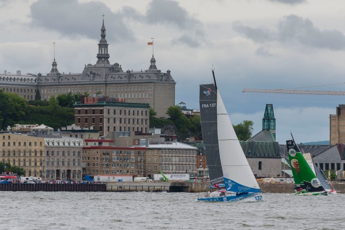 Start 10 lipca z Quebecu. / Fot. Steve Deschenes