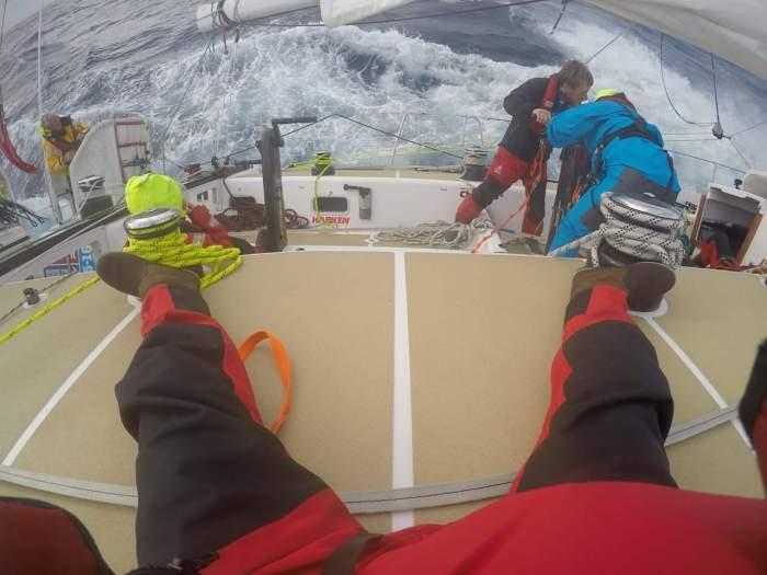 Na Oceanie Południowym. / Fot. archiwum Marty Michalskiej