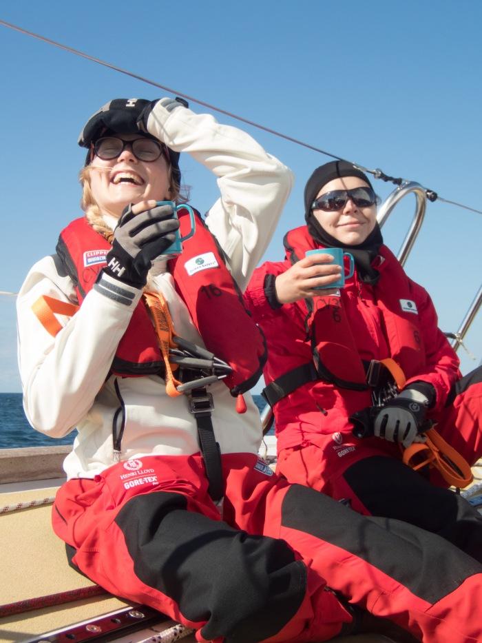 Poczucie humoru to według sir Robina Knox-Johnstona jedna z najważniejszych cech żeglarza. / Fot. Andrew Richards