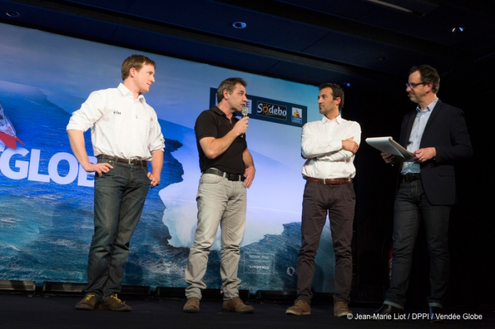 Press conference of the Vendee Globe 2016 with skippers presentation at Pavillon Gabriel in Paris, France, on february 3, 2016 - Photo Jean Marie Liot / DPPI