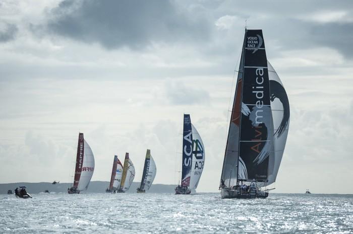 17 marca 2015. Start etapu 5 z Auckland (NZL) do Itajai (BRA). / Fot. Chris Cameron / VOR