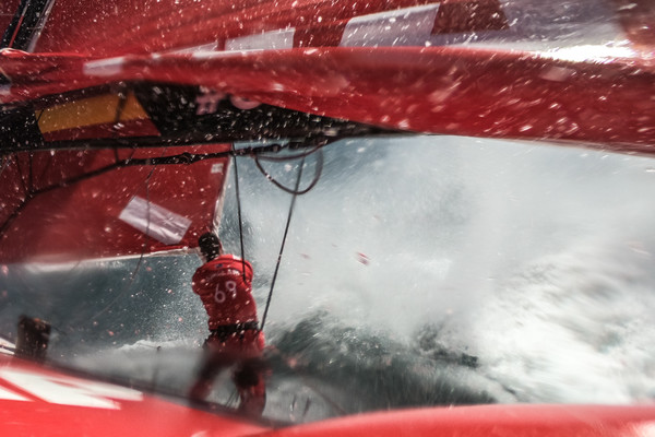 Leg 3, Cape Town to Melbourne, day xx, on board MAPFRE. Photo by Jen Edney/Volvo Ocean Race. 10 December, 2017.