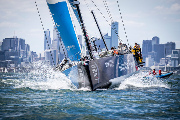 Leg 4, from Melbourne to Hong Kong. Start day. Photo by Jesus Renedo/Volvo Ocean Race. 02 January, 2018.